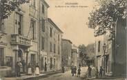 """13 Bouch Du Rhone / CPA FRANCE 13 """"Pelissanne, la mairie et les allées de Craponne """""""
