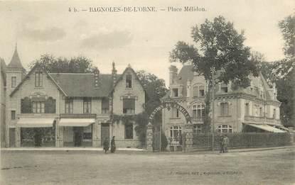 """CPA FRANCE 61 """"Bagnoles de l'Orne, Place Mélidon"""""""