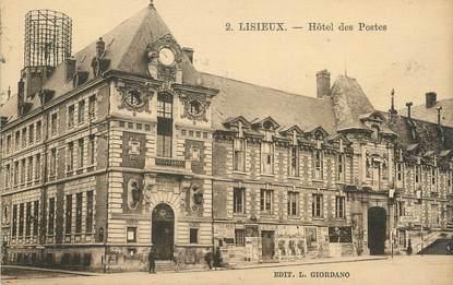 """/ CPA FRANCE 14 """"Lisieux, hôtel des postes"""""""