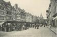 """/ CPA FRANCE 14 """"Lisieux, le marché aux fromages"""""""
