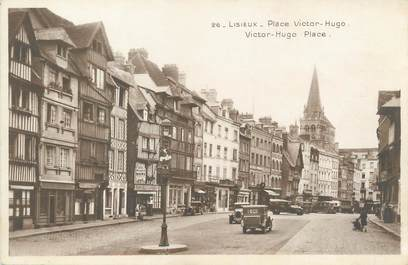 "/ CPA FRANCE 14 ""Lisieux, place Victor Hugo """