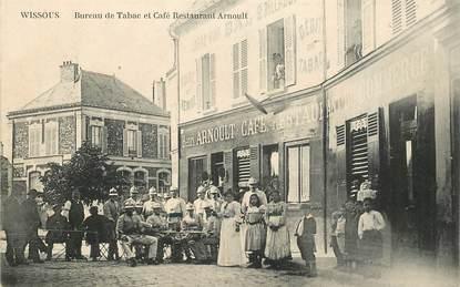 """CPA FRANCE 91 """"Wissous, Bureau de Tabac et café restaurant Arnoult"""""""