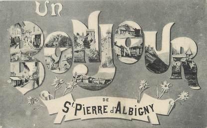 "/ CPA FRANCE 73 ""Saint Pierre d'Albigny"""