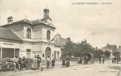 """CPA FRANCE 91 """"La Roche Villebon, la Mairie"""""""