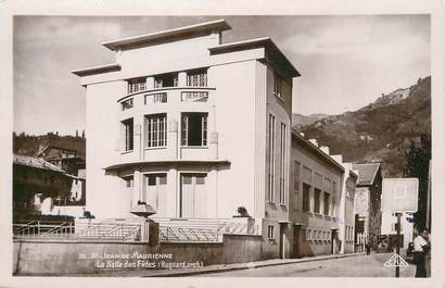 """/ CPSM FRANCE 73 """"Saint Jean de Maurienne, la salle des fêtes"""""""