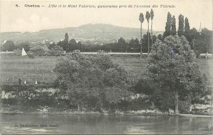 """/ CPA FRANCE 78 """"Chatou, l'Ile et le Mont Valérien"""""""