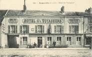 """91 Essonne CPA  FRANCE 91 """"Angerville, Hotel des Voyageurs"""""""