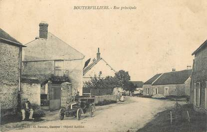 """CPA  FRANCE 91 """"Boutervilliers, rue Principale"""""""