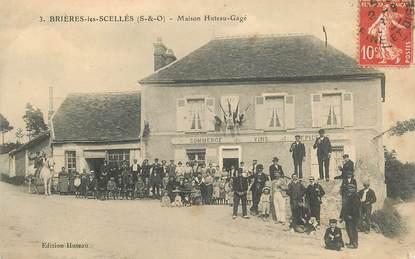 """CPA  FRANCE 91 """"Brières les Scellés, Maison Huteau Gagé"""""""