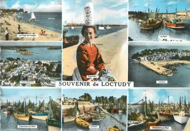 """/ CPSM FRANCE 29 """"Souvenir de Loctudy"""""""