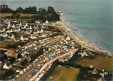"""29 Finistere / CPSM FRANCE 29 """"Loctudy, la plage de Langoz"""""""