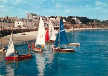 """/ CPSM FRANCE 29 """"Morgat, la plage """""""