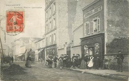 "CPA FRANCE 92 ""Malakoff, avenue Pierre Larousse"""