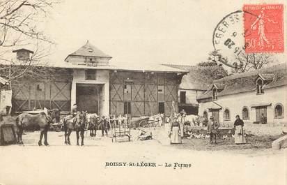 """CPA FRANCE 94 """"Boissy Saint Léger, la Ferme"""""""