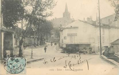 """/ CPA FRANCE 13 """"Salon, av Eyguières"""""""