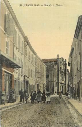 """/ CPA FRANCE 13 """"Saint Chamas, rue de la mairie"""""""