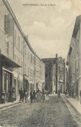 """/ CPA FRANCE 13 """"Saint Chamas, rue de la Mairie """""""