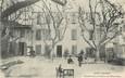 """/ CPA FRANCE 13 """"Saint Chamas, grande cour et Théâtre de l'Hôtel Bosio"""""""