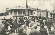 "13 Bouch Du Rhone / CPA FRANCE 13 ""Les Saintes Maries de la Mer, la procession"""