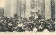 """13 Bouch Du Rhone / CPA FRANCE 13 """"Les Saintes Maries, la messe en plein air le 25 ami 1923'"""