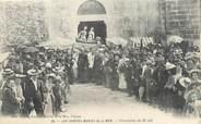 """13 Bouch Du Rhone / CPA FRANCE 13 """"Les Saintes Maries de la Mer, procession du 25 mai"""""""