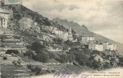 """CPA FRANCE 20 """"Corse, Castirla, vue générale"""""""