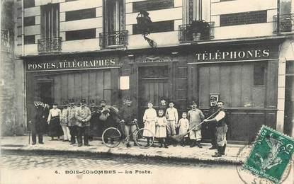 """CPA FRANCE 92 """"Bois Colombes, la Poste"""""""