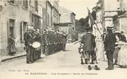"""92 Haut De Seine CPA FRANCE 92 """"Nanterre, les pompiers"""""""