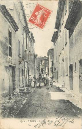 "/ CPA FRANCE 13 ""Vitrolles, rue de la poste"""