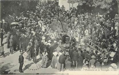 "/ CPA FRANCE 13 ""Tarascon, procession de la Tarasque"""