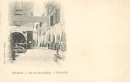 "13 Bouch Du Rhone / CPA FRANCE 13 ""Tarascon, la rue des Halles """
