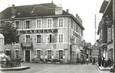 """/ CPSM FRANCE 73 """"Saint Génix sur Guiers, l'hôtel Labully et rue du centre"""""""