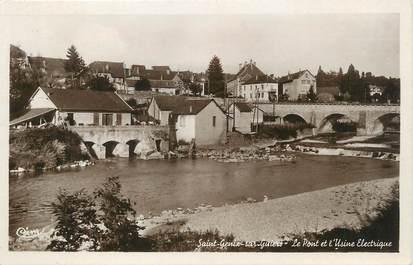 """/ CPSM FRANCE 73 """"Saint Génix sur Guiers, le pont et l'usine électrique"""""""