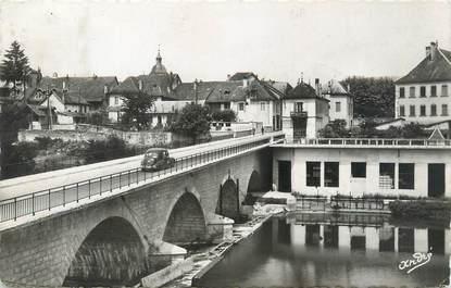 """/ CPSM FRANCE 73 """"Saint Génix sur Guiers, le pont et le barrage du Guiers"""""""