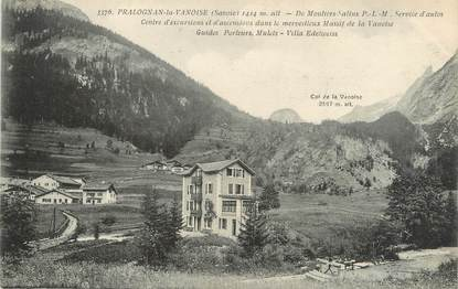 "/ CPA FRANCE 73 ""Pragnolan La Vanoise, centre d'excursions et d'ascension"""