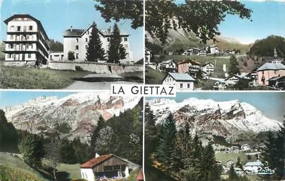 """/ CPSM FRANCE 73  """"La Giettaz, vues générales"""""""