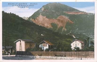 """/ CPA FRANCE 73 """"Bourg Saint Maurice, hostellerie du Petit Bernard"""""""