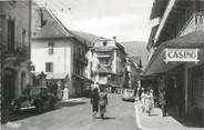 """73 Savoie / CPSM FRANCE 73 """"Brides Les Bains, la rue centrale"""""""