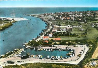 """/ CPSM FRANCE 34 """"Valras plage, le port Nautique"""""""