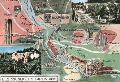 "/ CPSM FRANCE 33 ""Les Vignobles Girondins"""