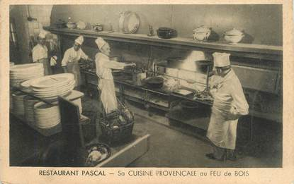 "/ CPA FRANCE 13 ""Marseille, restaurant Pascal"""