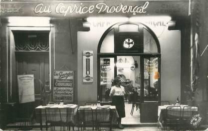 """/ CPSM FRANCE 13 """"Marseille, Restaurant au Caprice Provençal"""""""