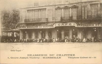 "/ CPA FRANCE 13 ""Marseille, brasserie du chapitre """