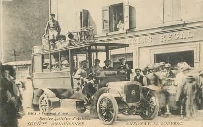 """CPA FRANCE 07 """"Annonay, service quotidien de l'Autobus"""""""
