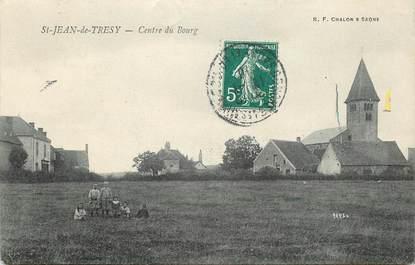 "CPA FRANCE 71  ""Saint Jean de Tresy"""