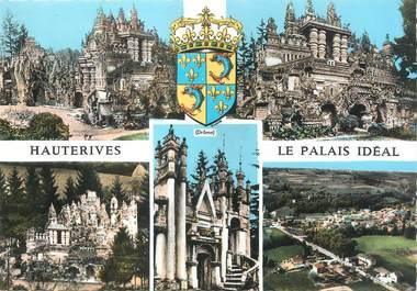 """/ CPSM FRANCE 26 """"Hauterives, le palais Idéal"""""""