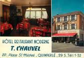 """29 Finistere / CPSM FRANCE 29 """"Quimperlé, hôtel restaurant Moderne"""""""