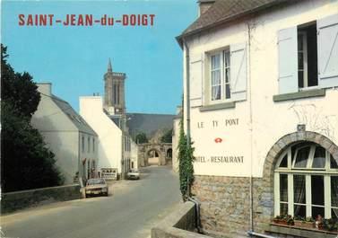 """/ CPSM FRANCE 29 """"Saint Jean du Doigt, le rue principale"""""""