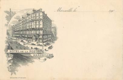 """/ CPA FRANCE 13 """"Marseille, hôtel de la Poste"""""""