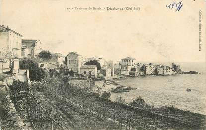 """CPA FRANCE 20 """"Corse, Erbalunga, environs de Bastia"""""""